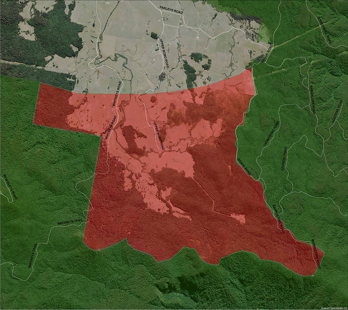 map-dorrigo-bindarri-connection