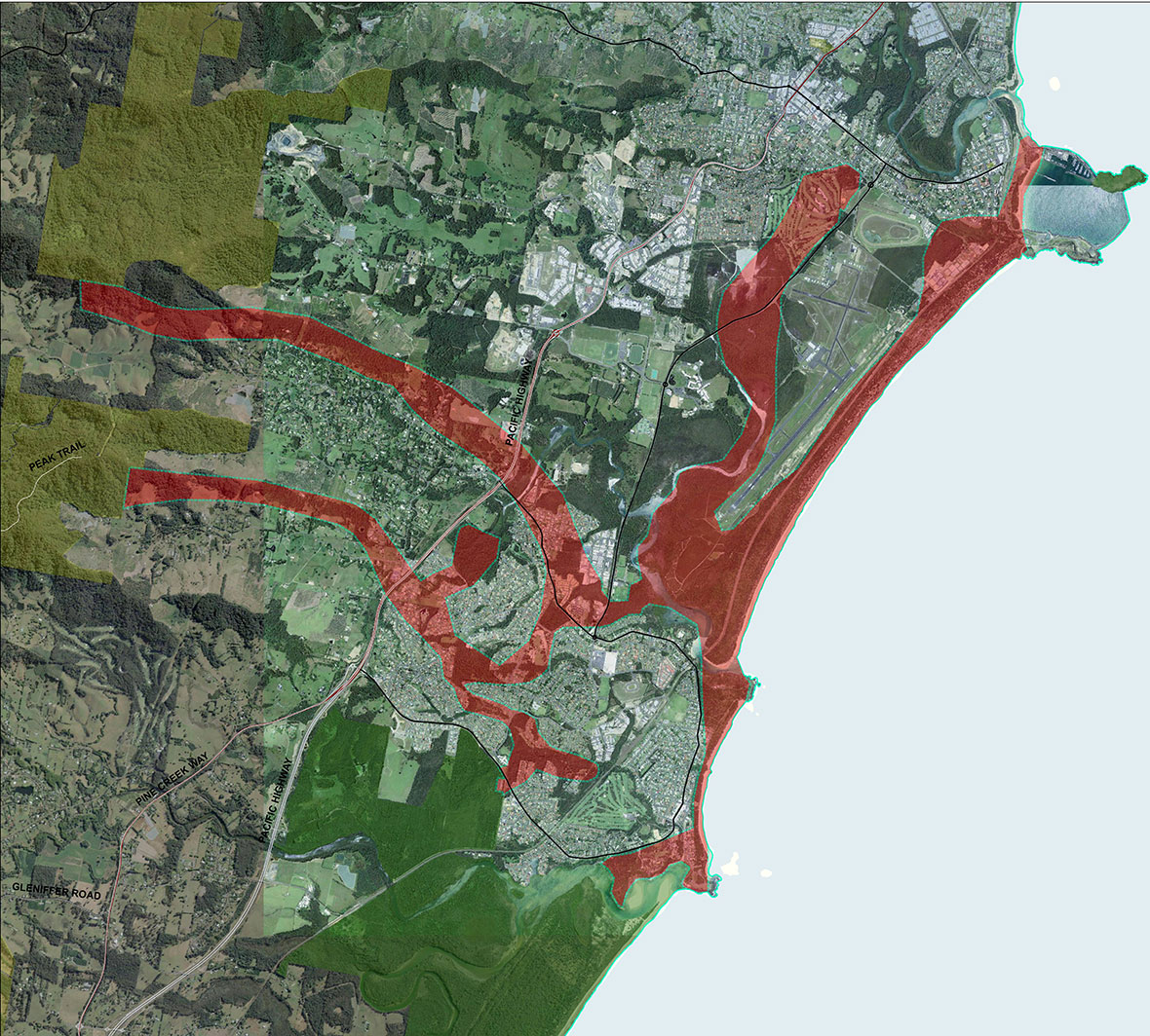 map-sawtell-boambee-connections
